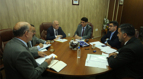 Assistant Secretary-General of the Council of Ministers discusses with the concerned authorities the observations contained in the reports of the Federal Audit Bureau 2018-12-04-1