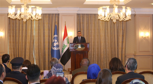The Iraqi government announces the national strategy to combat violence against women 2018-12-11